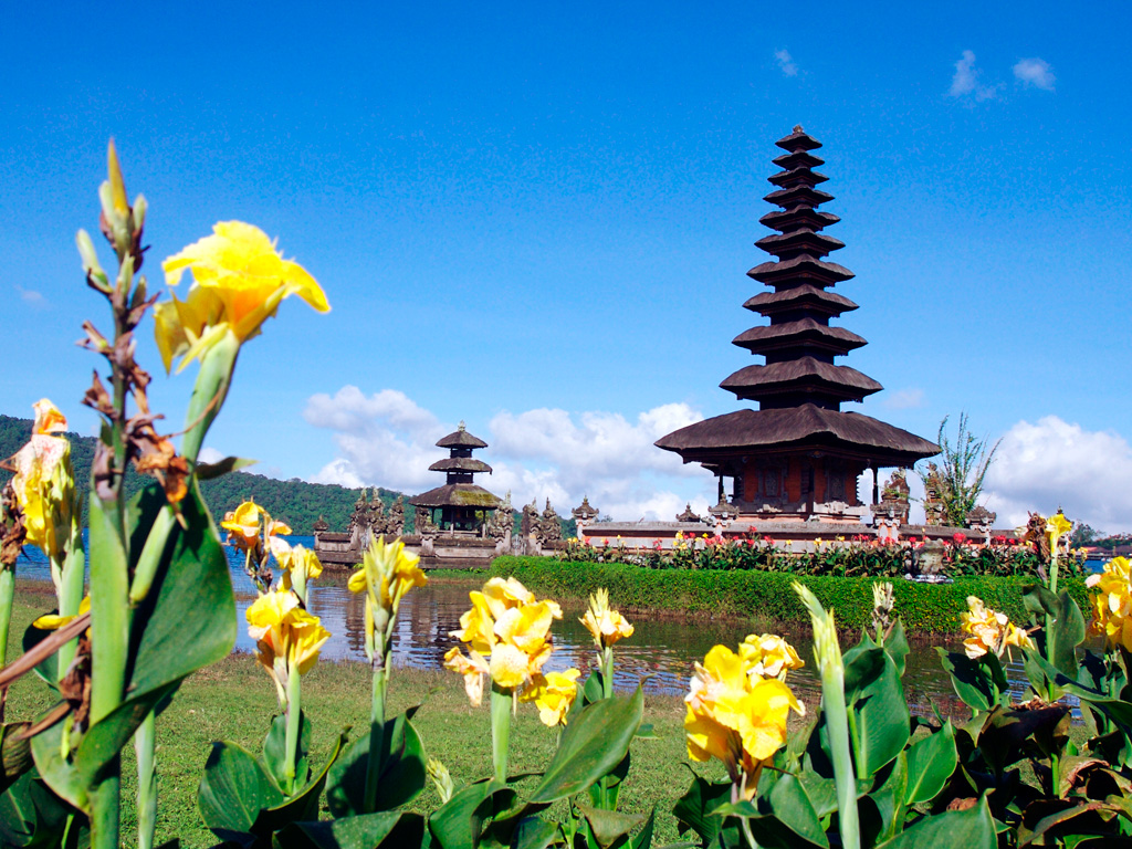 les lieux touristiques à Bali