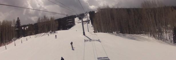 Le ski, un des sports d'hiver le plus pratiqué à la montagne