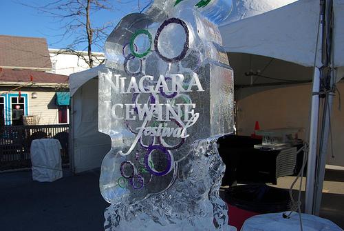 festival du vin de glace niagara accueil