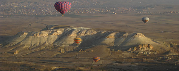 vol montgolfière