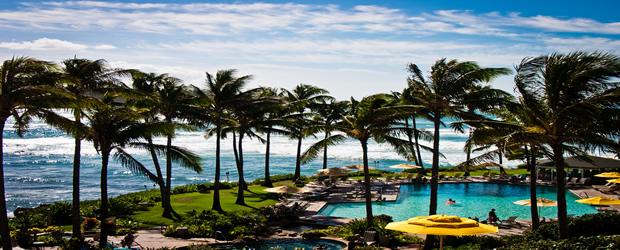 Hawaï piscine hôtel