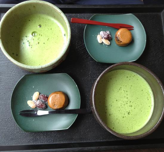Présentation thé japonais