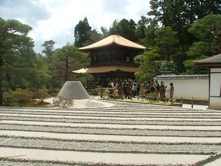 Ginkaku-ji et la mer de sable d'argent
