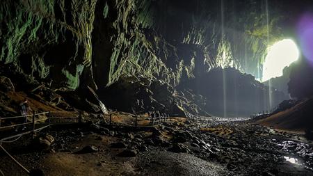 Grottte à chauve-souris de Gunung Mulu