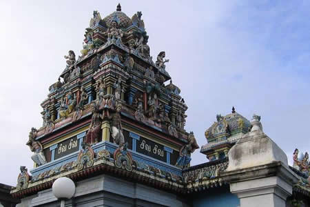 Temple à Grande Baie
