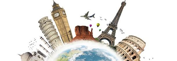 Voyage aux quatre coins du monde
