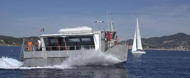 bateau plongée