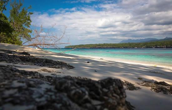 Timor Oriental Jaco island