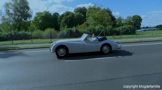 voiture en route