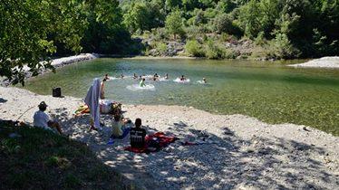 Un week end camping dans le Gard