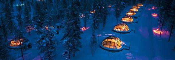 Et si vous séjourniez dans un igloo ?