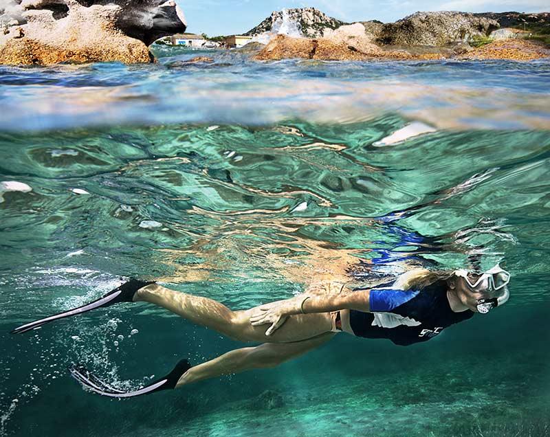 snorkeling france