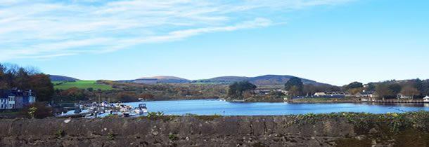 Bienvenue à Killaloe, en République d'Irlande