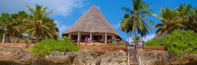 Prix moyens des nuitées d'hôtels de luxe à zanzibar