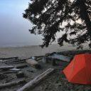 Vacances en camping sur le bord de la méditerranée