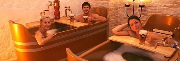 Un séjour bien-être au spa de bière à Prague