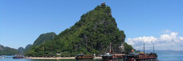 Île de Titov – un petit trésor au cœur de la baie d'Halong
