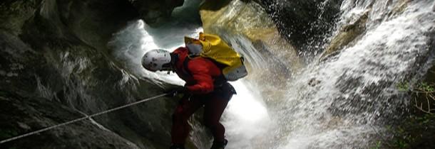 Le canyoning dans les Alpes Maritimes