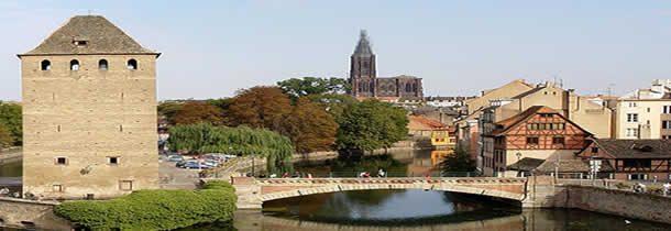 Premier séjour à Strasbourg