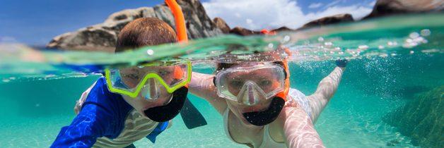 Le snorkeling dans les îles des Caraïbes