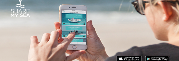 ShareMySea : Le nautisme en mode collaboratif