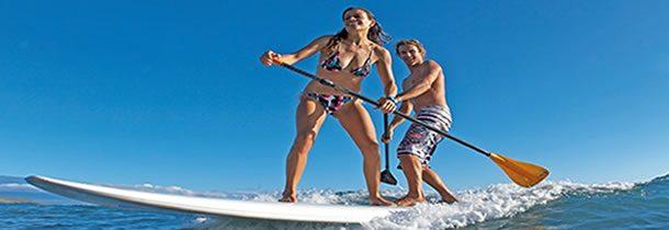 Stand Up Paddle sur la Côte d'Azur