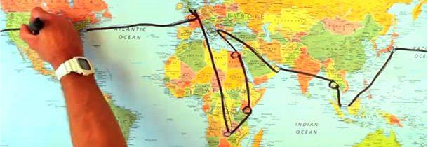 Le tour du monde, à chacun sa vision …