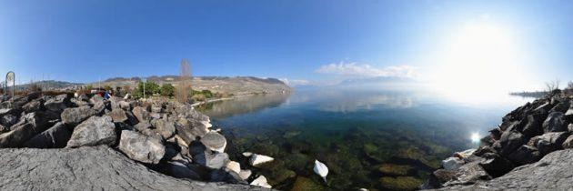 Découvrir le lac Léman en parapente