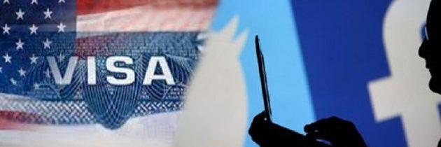 Visa USA : il faudra révéler vos réseaux sociaux et contacts